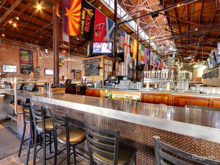 Beautiful Bar Area in a Historic Taproom Photo 4