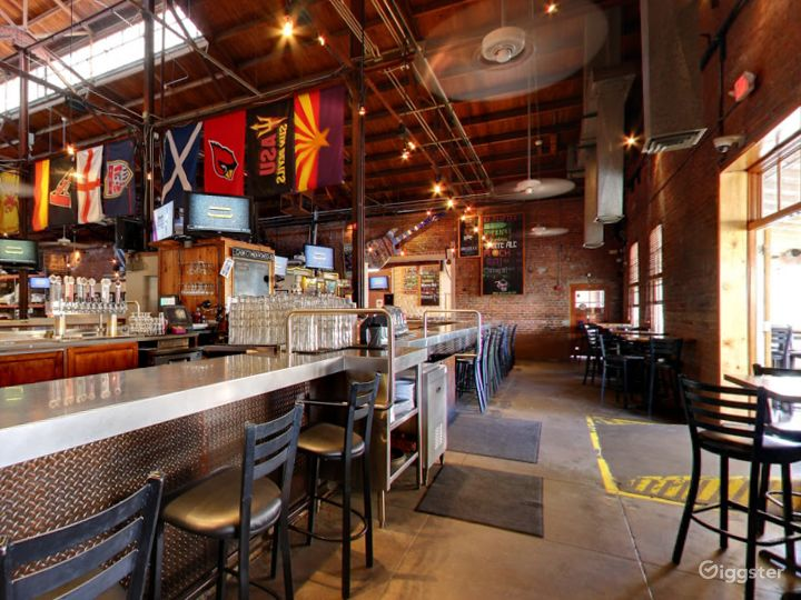 Beautiful Bar Area in a Historic Taproom Photo 3