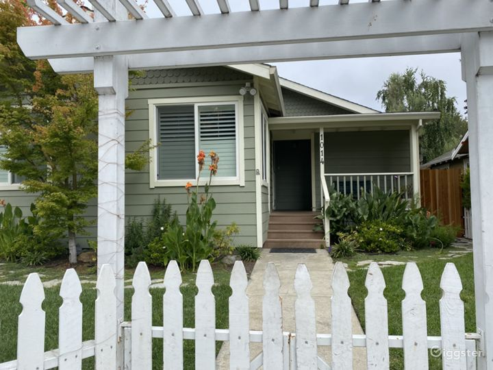 White Picket Fence surrounds front yard