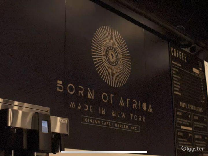 Beautiful Upscale Afro Modern Coffee Shop / Rest. Photo 4