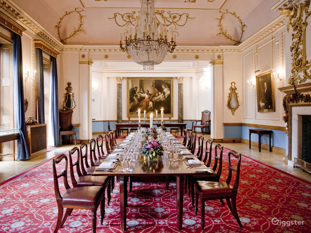 Beautiful 18th Centaury Rococo style room in the City of London