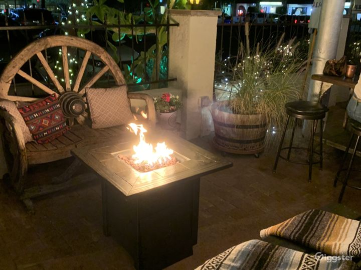 Beautiful Party Patio