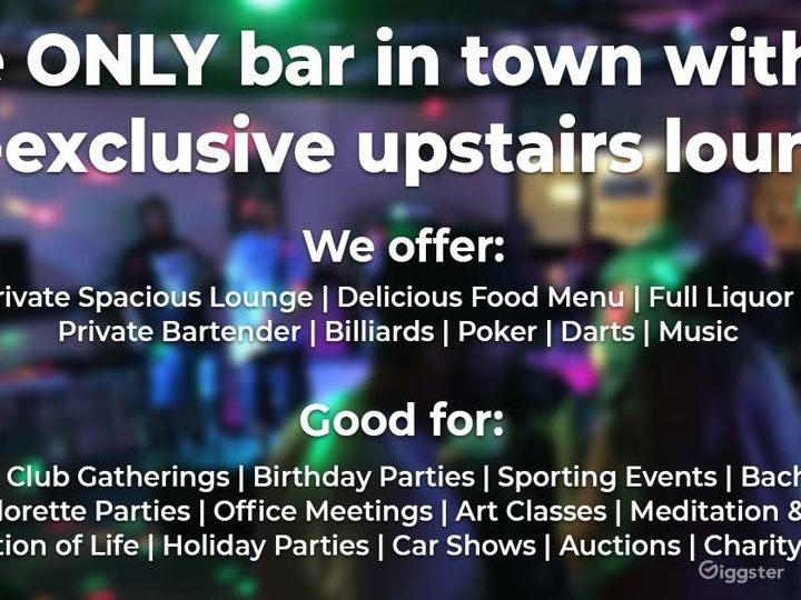 Lounge with balcony to book a party or event Photo 4