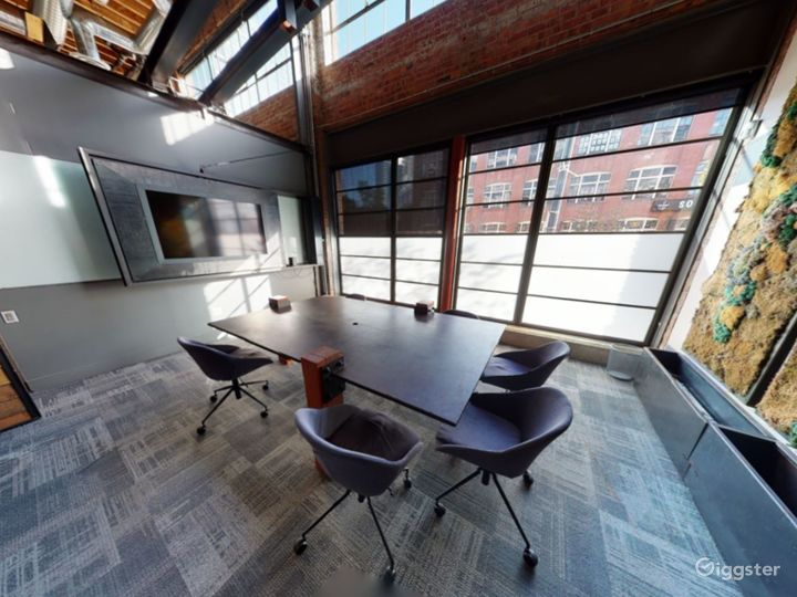 Intimate Meeting Room with Natural Lighting