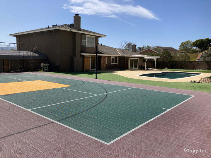 Sport Court - Volleyball, Paddle Tennis, & Basketball View 1
