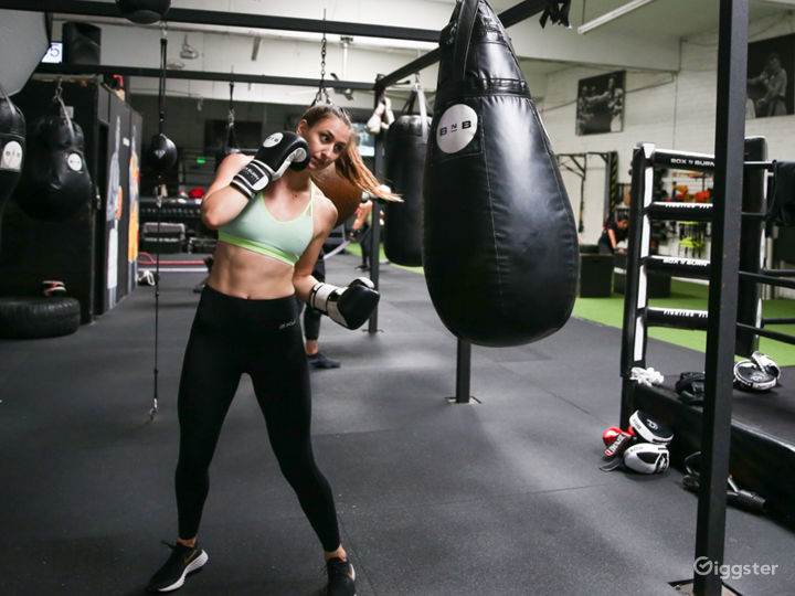 Clean & Bright Authentic Boxing Gym Photo 5