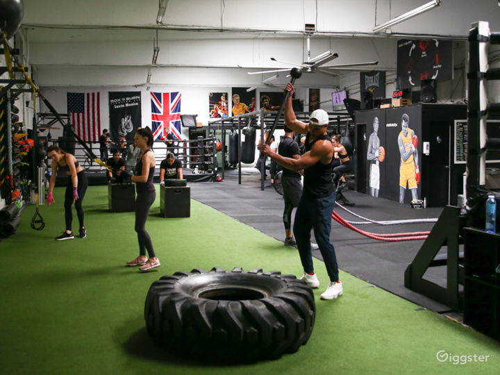 Clean & Bright Authentic Boxing Gym Photo 3