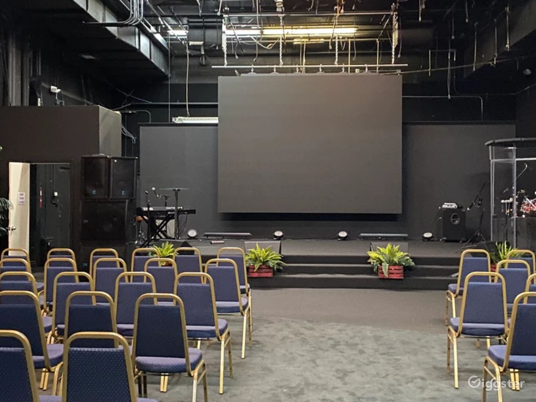 A Well-Lit Auditorium for Events in Hollywood Photo 1