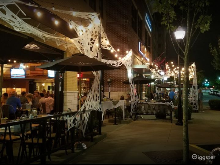 A Welcoming Outdoor Dining Space in Georgia Photo 2