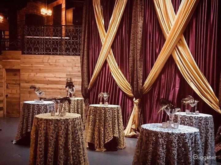 Beautiful Event Ballroom with Mezzanine Floor  Photo 3