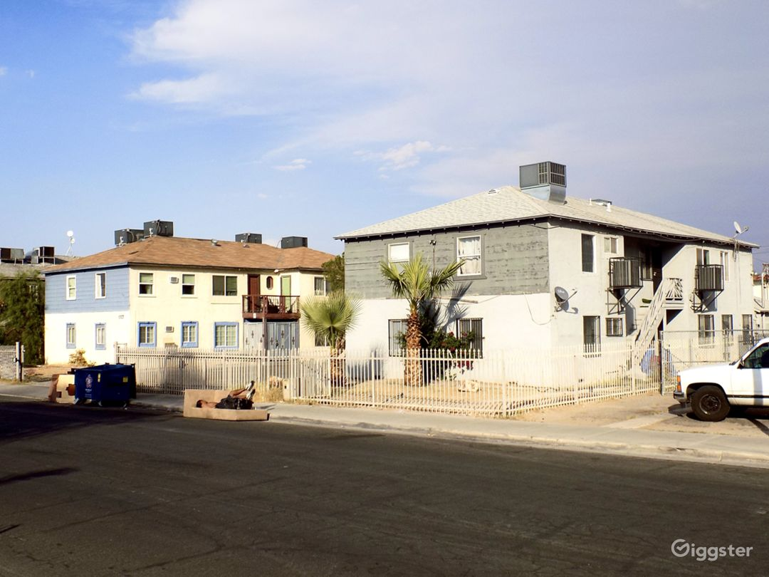 2 buildings on 1 lot in Las Vegas. 10 units combined. 7 units are Short term rentals