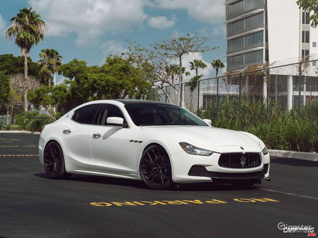 Maserati Super Car (optional) $150