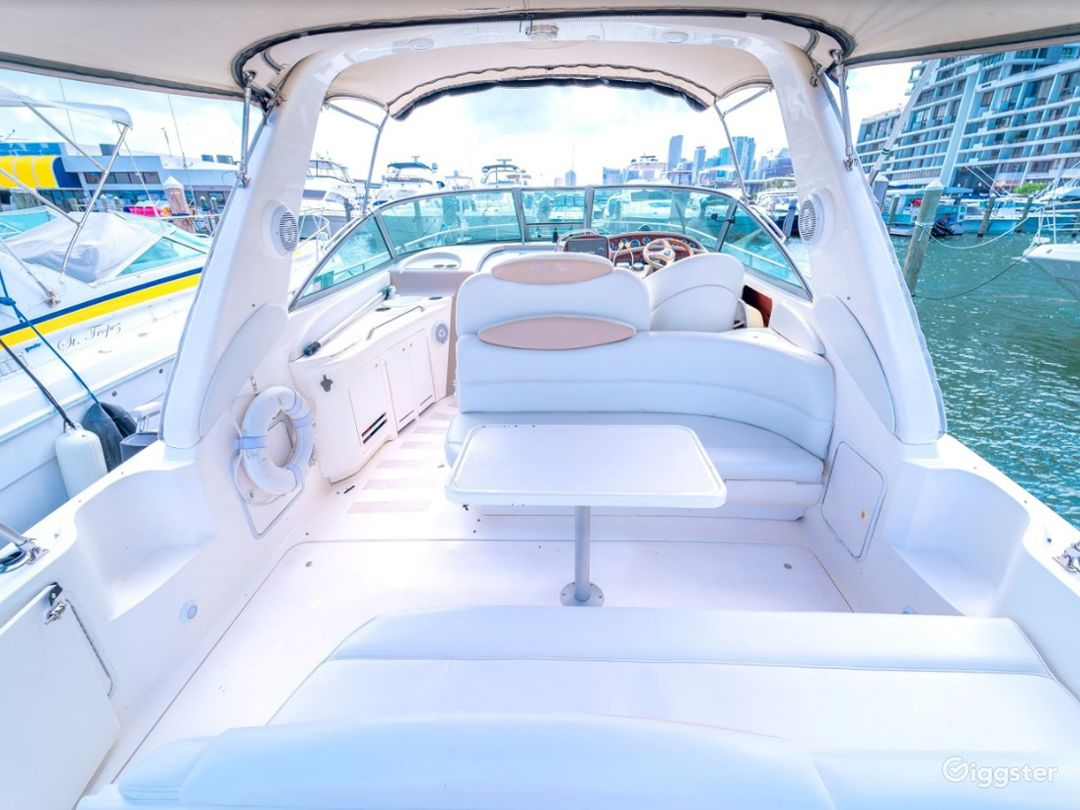 Wide and Winning 34FT  Sea Ray Sea Isle #2 Party Boat Space Events Photo 1