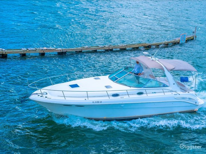 Wide and Winning 34FT  Sea Ray Sea Isle #2 Party Boat Space Events Photo 4