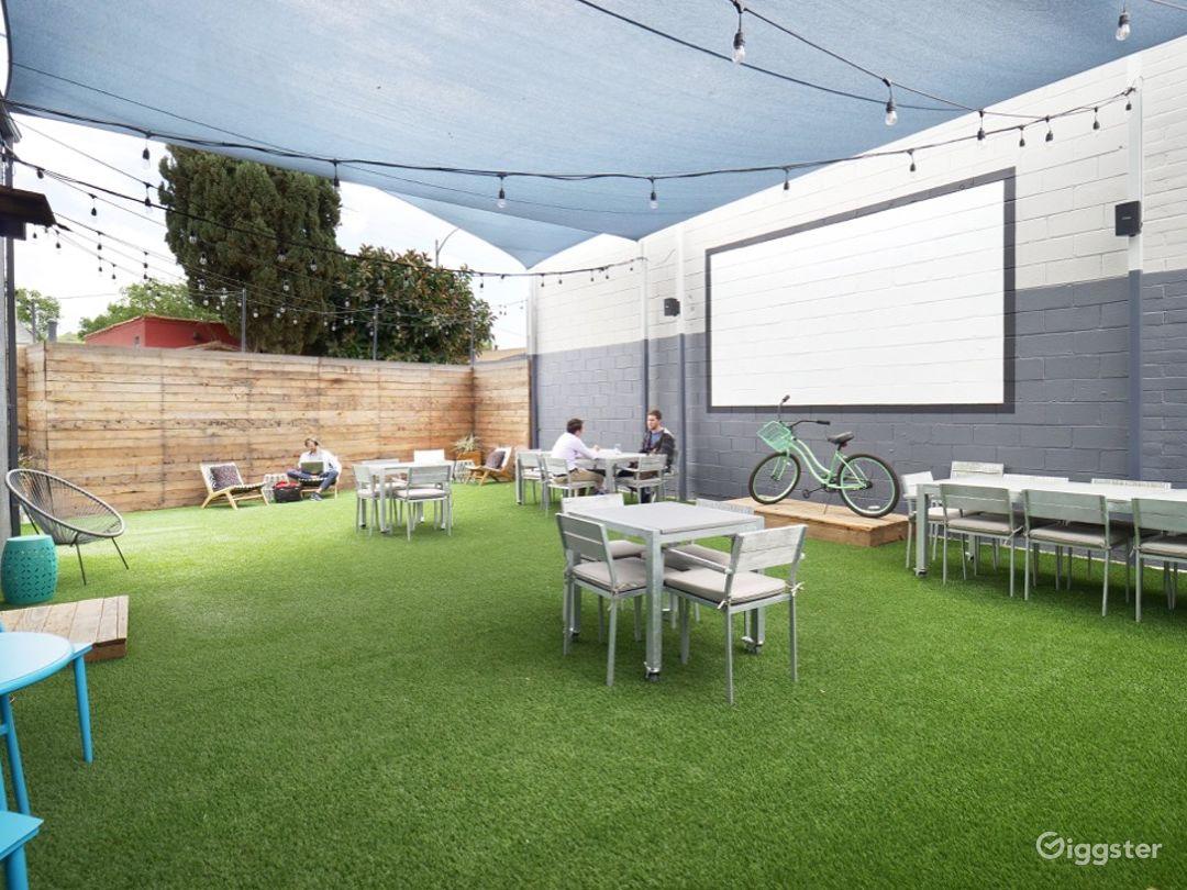 Outdoor Garden Event Space