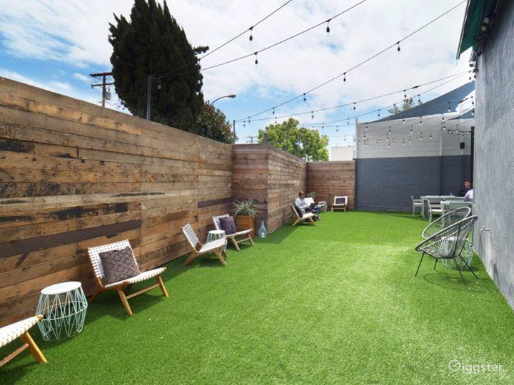 Outdoor / Indoor Event, Meeting, & Work Spaces