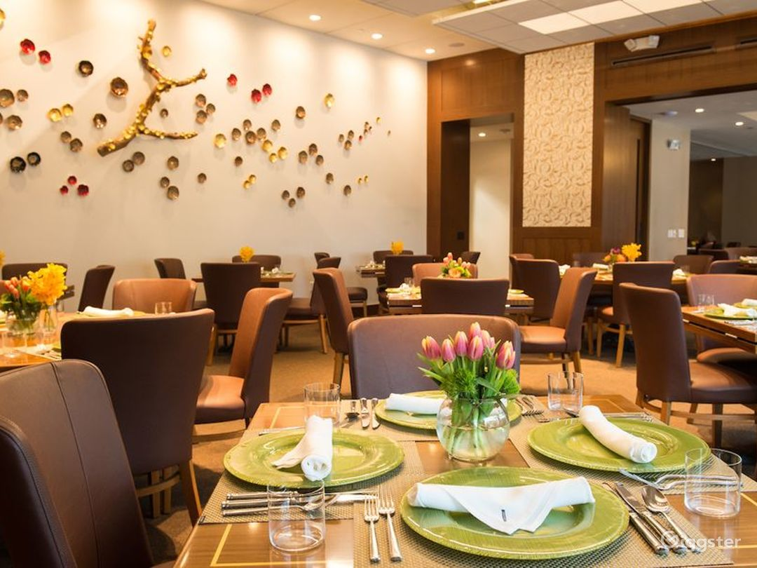 Modern and Stylish Dining Room in Houston Photo 1