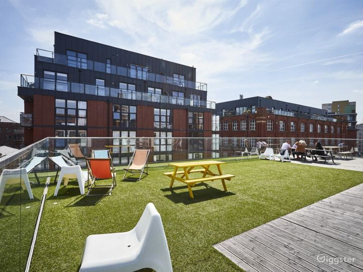 Roof Terrace in Manchester