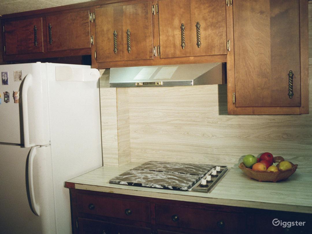 Unrenovated 70s Home- Wallpaper, Carpet & Paneling Photo 2