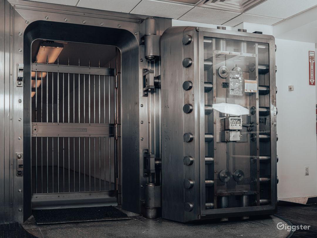 Bank Spy Vault Photo 1