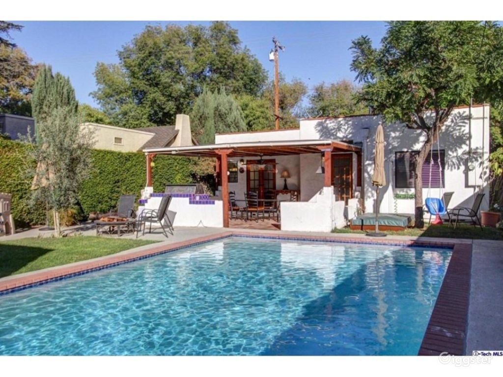 Rent The House(residential) Enchanting Spanish Gem With Sparking Pool For  Filming/photo