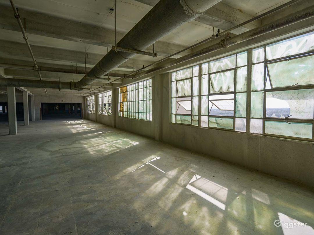 Humongous Dilapidated Warehouse Photo 3