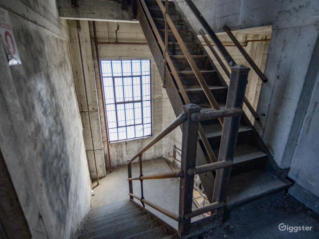 Humongous Dilapidated Warehouse Photo 2