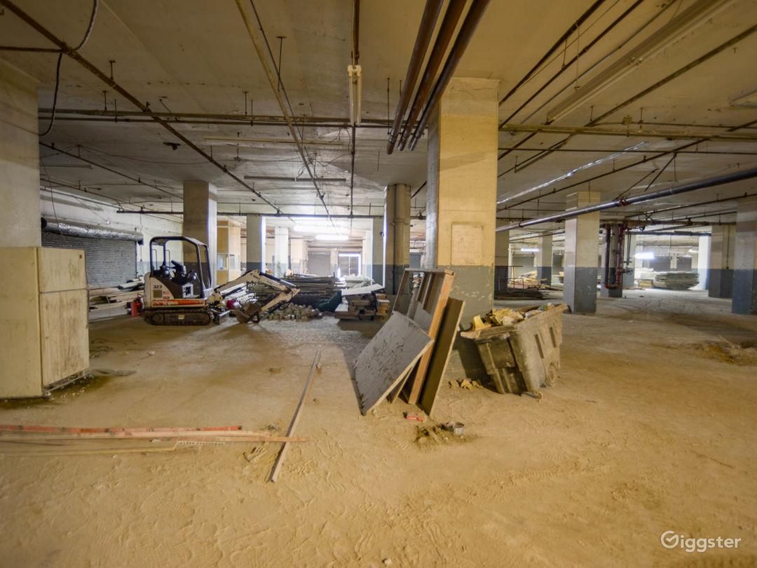 Humongous Dilapidated Warehouse Photo 1