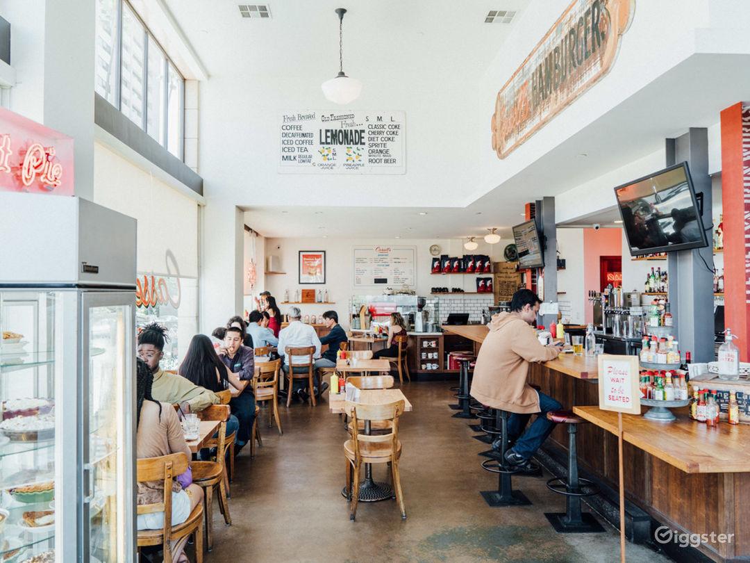 Atmospheric Restaurant in LA Photo 1