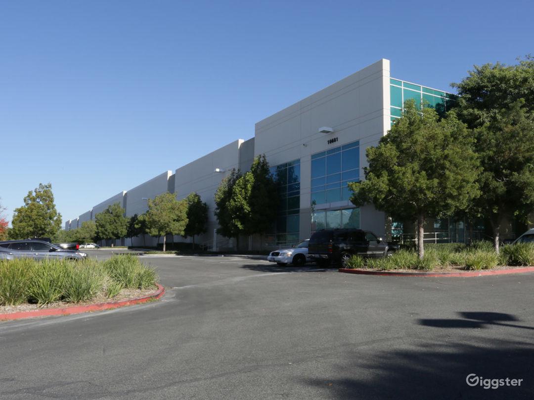 Modern Industrial Warehouse - Fontana, CA  Photo 1