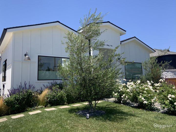 Modern Los Angeles Farmhouse - Production Location Photo 3