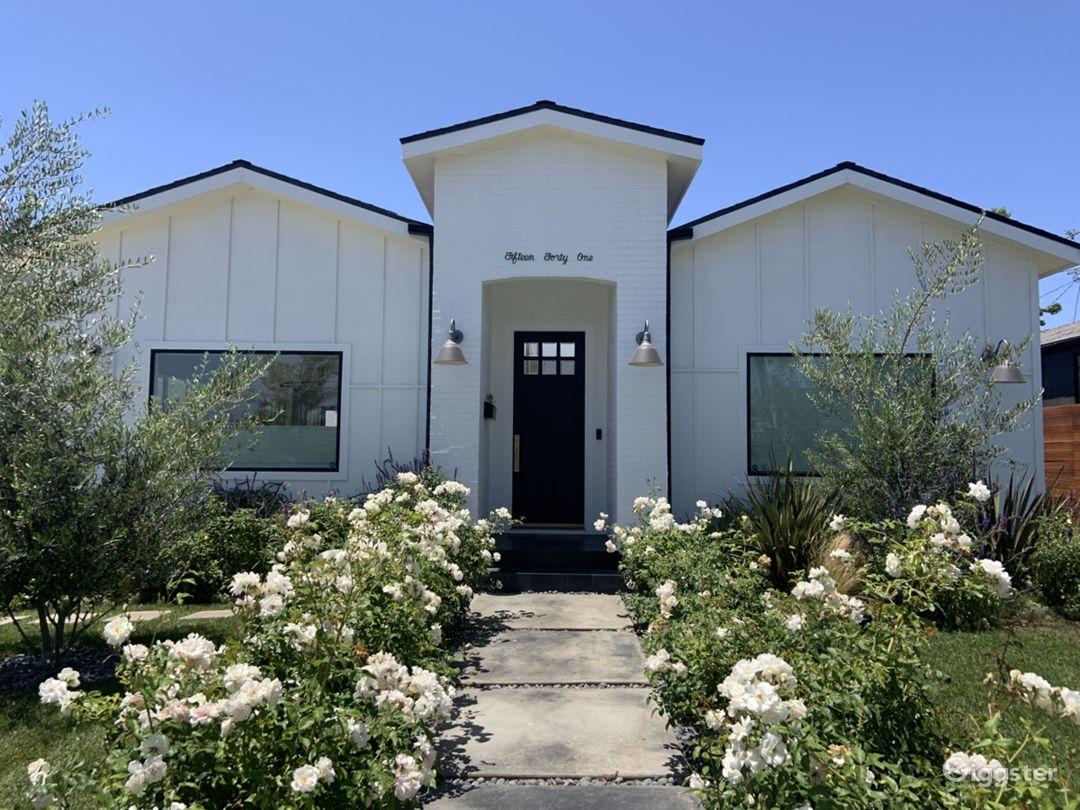 Modern Los Angeles Farmhouse - Production Location Photo 1