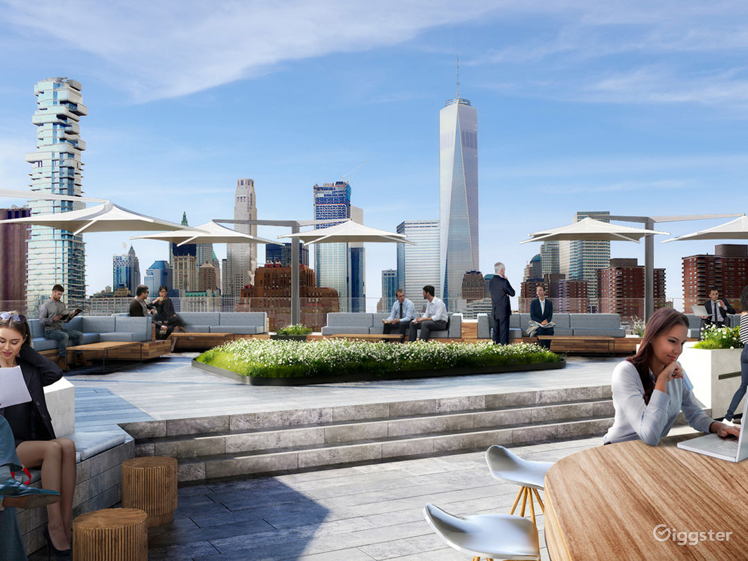 Expansive Hudson Square Rooftop Space Photo 4