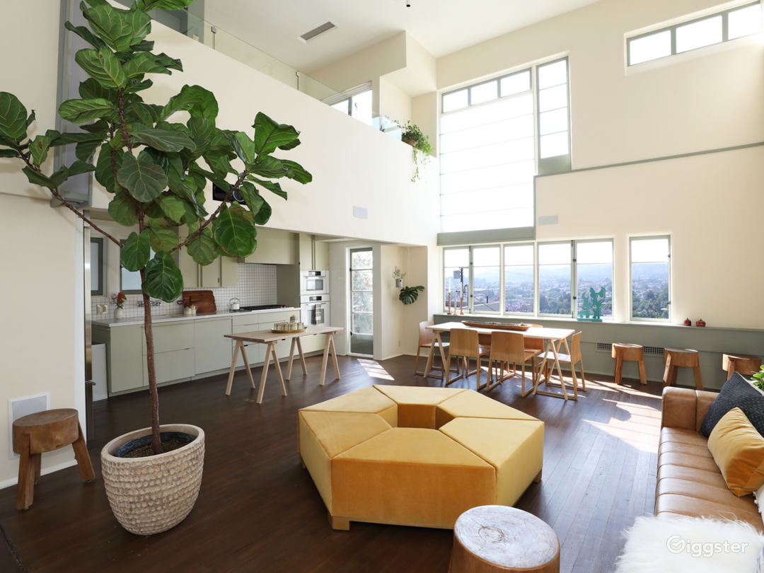Schindler Loft w/ Natural Light, Hollywood Views Photo 1