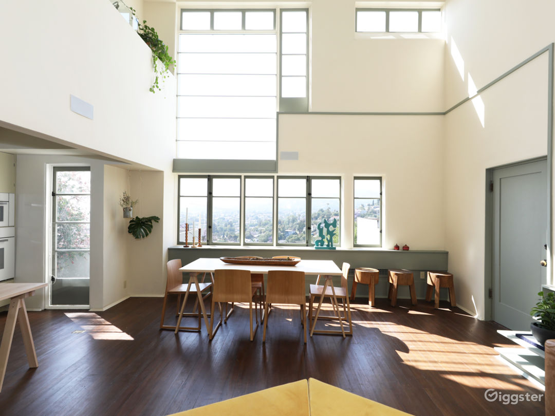 Schindler Loft w/ Natural Light, Hollywood Views Photo 4