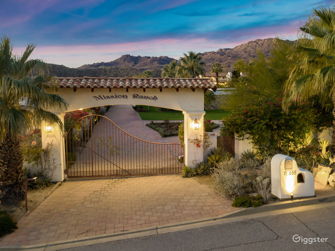 5 acre walled and gated estate