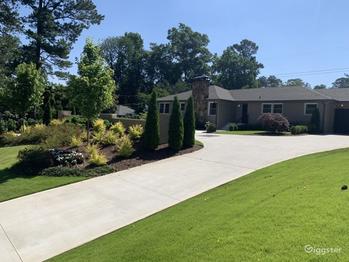 Top Manicured Outdoor Filming Location in Atlanta