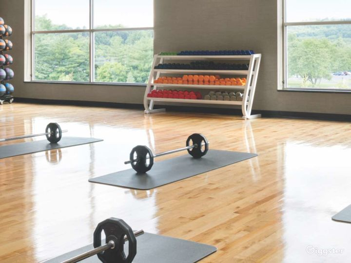 Upscale modern gym and spa: Location 5286 Photo 2