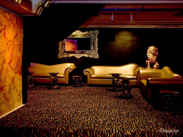Classy Contemporary NightClub's Upstairs Balcony in Boston Photo 2