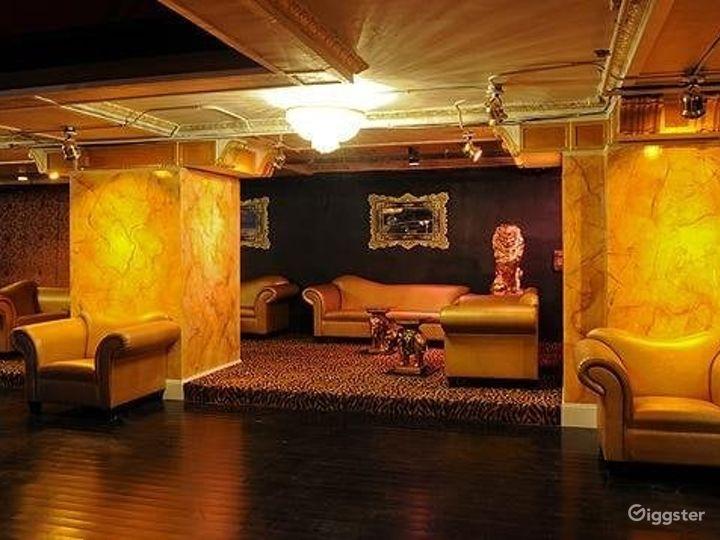 Classy Contemporary NightClub's Upstairs Balcony in Boston Photo 3