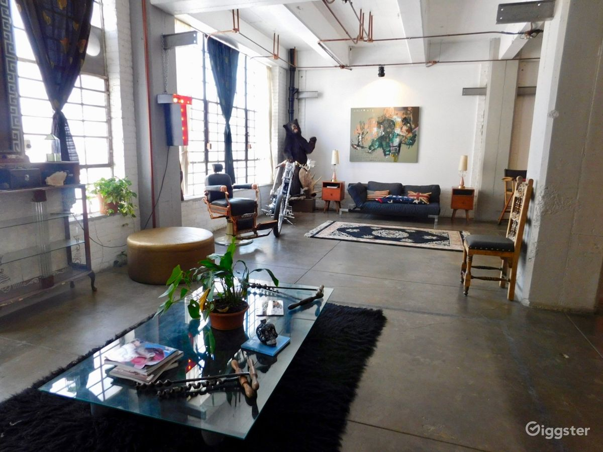 Rent The Event E Warehouse Commercial Large Open Loft With View For
