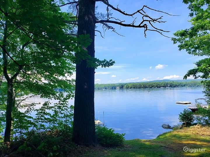 At the lakefront you'll find a dock that will accommodate your boat up to 20 feet in length and sand-bottomed frontage from which to take a dip to cool off on a hot summers day. There is a public boat launch on Lake Winnipesaukee just a 2 minute drive.