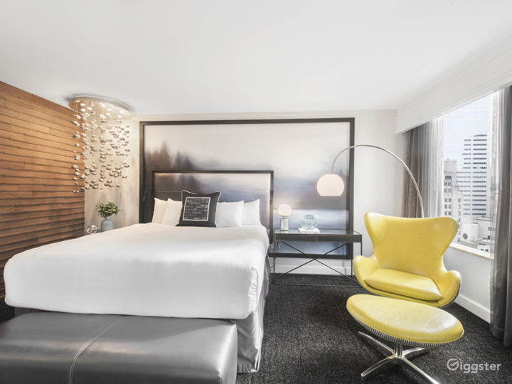 Water View Suite Bedroom