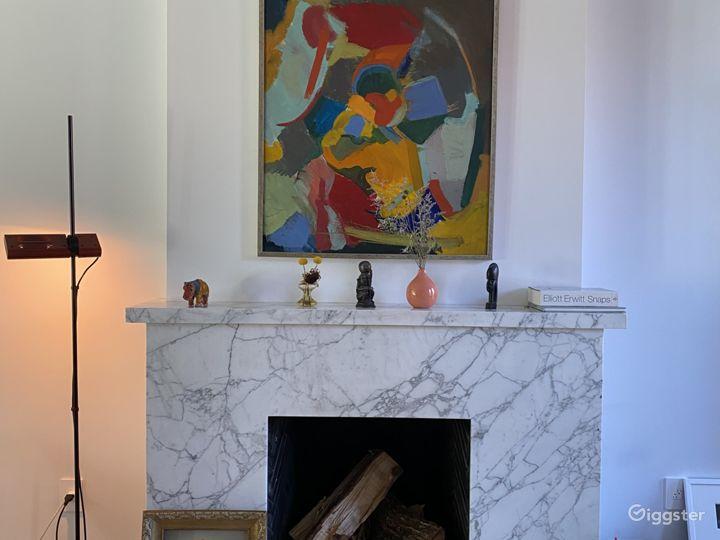Elegant Mid-Century Modern Brownstone Photo 3
