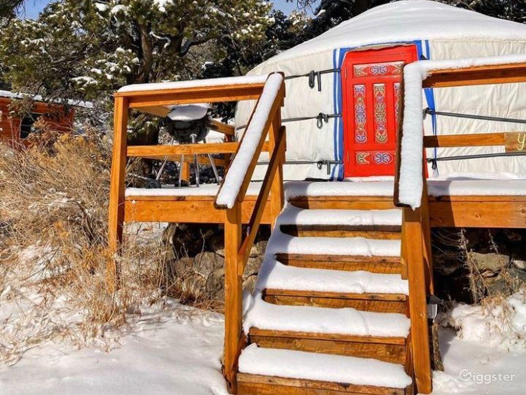 Unique Yurts with Colorful Design Photo 1