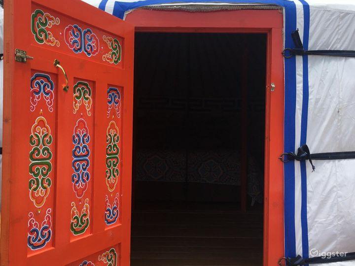 Unique Yurts with Colorful Design Photo 3