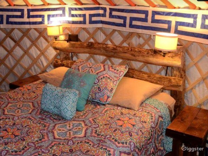 Unique Yurts with Colorful Design Photo 5