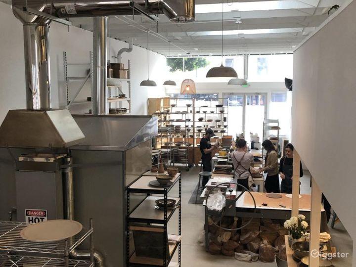 Ceramic Design Showroom/Studio in San Francisco