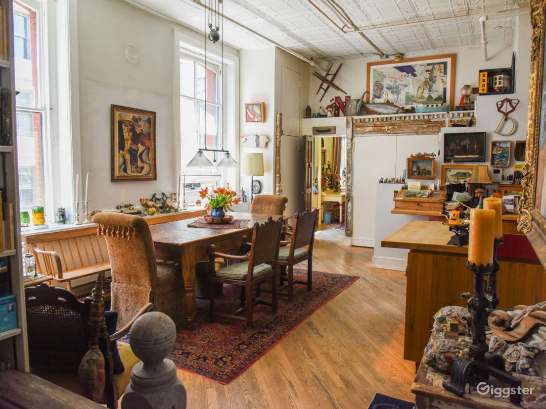Soho loft with artists studio: Location 5017 Photo 1