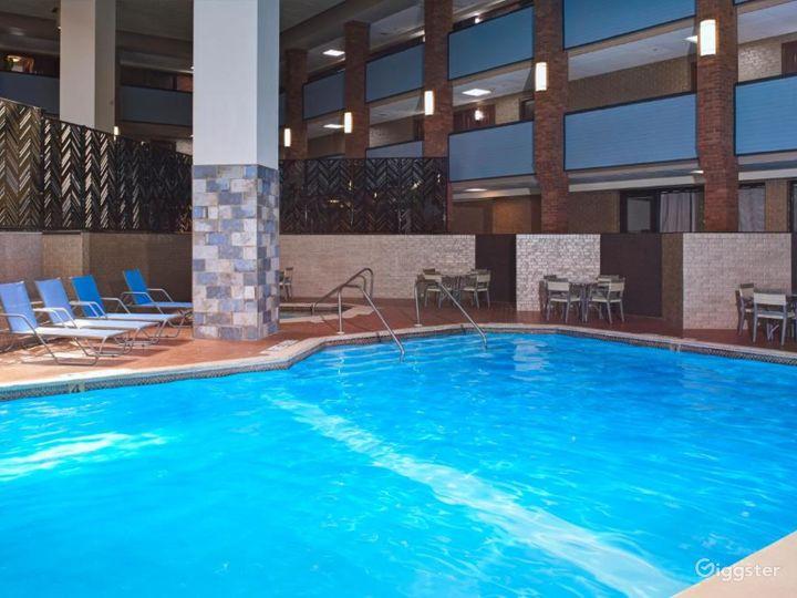Wurlitzer Event Room in Lavish Detroit Hotel Photo 3